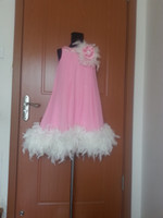 Cheap Chiffon Flower Girl Dress Best A Line Flower Girl Dress