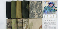 Wholesale Retail piece color Tactical Military Hunting camouflage Sniper Cover Multi Scarf Veil Face Mesh Scarves Shawl Desert