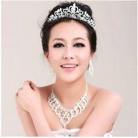 Rhinestone/Crystal Crown Veil Tiara Charming Shining Multi Styles Wedding Bridal Crystal Veil Tiara Crown Headband