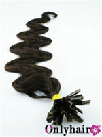 beautiful hair tips - 200Piece Brazilian Body Wave U Tip Hair Extension Beautiful Natural color Can Be Easy To Remove