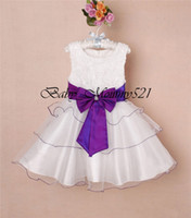 Wholesale 2013 New Party Dress BD Girls Tiered Full Dress Colors Years Children Summer Clothes