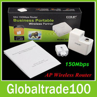 Wholesale 150M Wireless WiFi MINI Router Charge Wireless speed Mbps Original EDUP EP Free DHL Shipiing