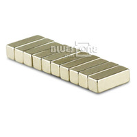 Wholesale Big Bulk Super Strong N35 Block Magnet x x mm Rare Earth Neodymium