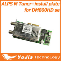 Wholesale 1pc ALPS Rev M tuner BSBE2 A with install plate for hd se dm800hd se satellite receiver