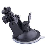 Wholesale for black plastic gopro mount adapter strong window car glass suction cup trip M0008