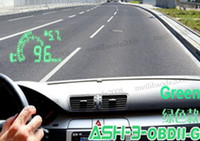 Wholesale High quality Multi Car Hud HUD Head Up Display ASH Fuel Consumption Speed MYY5317