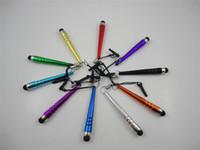 Wholesale Stylus Pen For iPhone iPod iPad cellphone Capacitive sensitive stylus pen