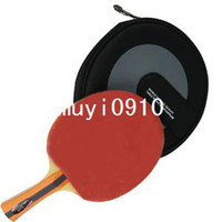 Wholesale New Professional Wooden Table Tennis Racket Bat Ping Pong Paddle Rubber