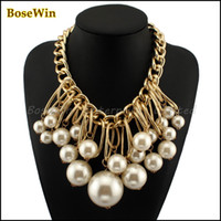 Big Chunky Necklaces Fashion Jewelry Fashion Gold Big Chunky