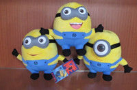 Wholesale Minions Dave Jorge Stewart Despicable Me Minion Plush toys D eyes inch