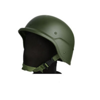 Wholesale Plastic M88 Tactical SWAT PASGT Safety Airsoft Helmet black sand army green