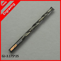Wholesale 3 mm Double Edged Flute Spiral CNC Router Bits for Acrylic PVC