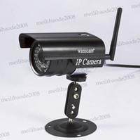 Compra Wireless ip camera-Noche de Vigilancia WiFi impermeable al aire libre cámara de Internet Red / Wired IP Wireless CCTV Seguridad Visión de Wanscam MYY5320