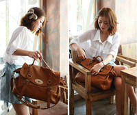 Women Plain other New Vintage Women PU Leather Messenger Purse Handbag Shoulder Bag Brown Black