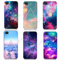 iphone 4 - S5Q New Galaxy Space Universe Snap On Hard Case Cover Protector For iPhone S AAACDQ