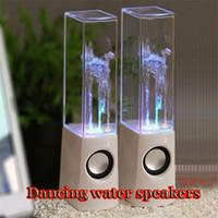 2 cheap mini computer - Cheap Mini Water Speaker Colorful Water drop Show Sensor with LED Lamp Light Dancing Speaker