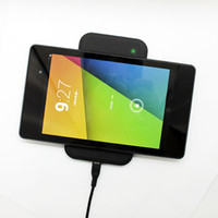 Wholesale Wireless Power Qi Wireless Charger Qi Wireless Charge Pad MC A MC MC Double Charging Pad For Google Nexus HD Best price