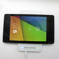 Wholesale 2014 Hot Sale Wireless Power Qi Wireless Charger Qi Wireless Charging Pad MC A MC MC Double Charging Pad For Google Nexus HD