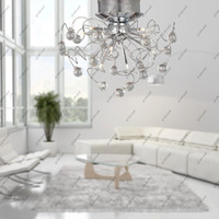 Cheap Modern 11halogen light Best Hotel Silver decoration ceiling