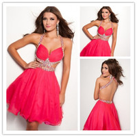 Wholesale - 2013 Sweetheart Sexy Open Back Colorful Rhineston...