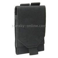 Wholesale Army Combat Travel Utility Velcro Belt Pouch Bum Bag Mobile Phone Money Black