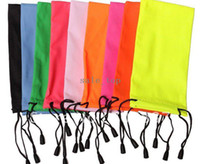 Wholesale 20pcs Waterproof Sun Glasses Bags Pouch Eyeglasses Cases Different Colors for Choose