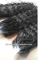 Wholesale Cheap Indian Deep Wave Human Micro Ring Loop Hair Extensions