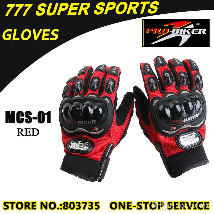 Promotion Hot Moto Glove Full Finger Guantes MCS-01
