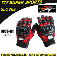 Wholesale Hot Promotion Motorbike Glove Full Finger Guantes MCS