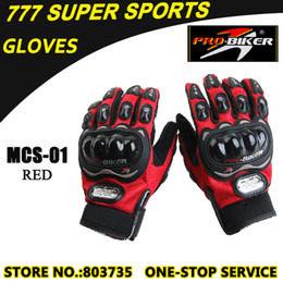 Hot Promotion Motorbike Glove Full Finger Guantes MCS-01