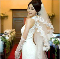 Wholesale 2T Wavy Lace m New Complex Gulei Si Bulk Yarn Lace Long Bridal Veil Wedding Veils