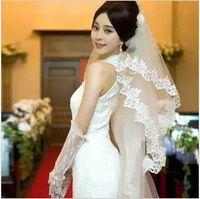72 bulk yarn - 2T Wavy Lace m New Complex Gulei Si Bulk Yarn Lace Long Bridal Veil Wedding Veils