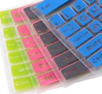 Wholesale thin multicolour desktop general keyboard cover keyboard pad silica gel keyboard film