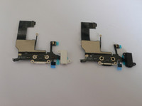 Wholesale Charging Dock Port Connector Flex Cable Ribbon Repair Part for iPhone G White black color