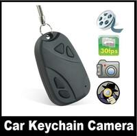 Wholesale DV PORTABLE MINI CAR KEY CAMERA CHEAPEST HD HIDDEN KEYCHAIN VIDEO