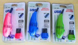 Wholesale Convenient MiniUSB Vacuum Keyboard Cleaner for PC Laptop Computer Dust Collector