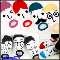 Wholesale 30 Pairs High Quality Women s Cotton Boat Sock Cartoon Facial Expression Lady Ankle Socks Floor Sox lovely Short Socks Girls
