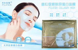 Wholesale New PILATEN Collagen Crystal Facial Mask Moisturizing whitening removing wrinkles improving firmness