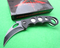 Knives   EMERSON Karambit G10 Handle 440C blade 59-60HRC Folding blade knife Pocket Knife hunting knife combat claw knife knives Black blade