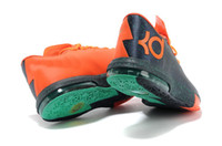 New arrival 2013 Brand NK Zoom KD VI Mens Basketball shoes s...