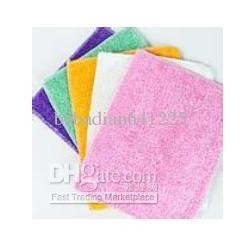 Wholesale Non stick Oil Bamboo Fibre Towel Dish Washing Cleaning Cloth cm Kitchen Cleaning Cloth Cooking Cloth Dishes Clean Cloth