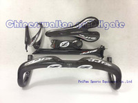 Wholesale 2013 new handlebar zipp full carbon road bike handlebar zipp saddle zipp carbon bottle cage zipp stem zipp seat post