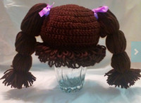 Winter baby cabbage patch - 30 off cabbage patch kids hat brown handmade crochet hats cheap hat baby wear kid hat hat online