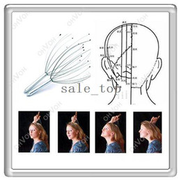 Wholesale Stainless Steel Stress Relax Head Neck Scalp Massage Massager New Geek Gift