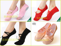 Wholesale Retail Sale Quality Practice Yoga shoes Ladies men soft ballet shoes dance practice shoes women shoes color EU Size pairs