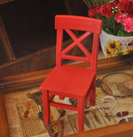 Wholesale Zakka small chair plastic photo props exquisite technology gift