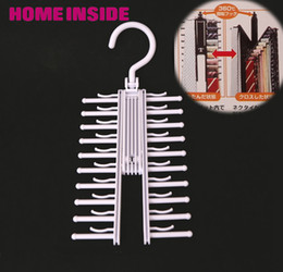 Wholesale Novelty Rotatable Multifunction tie rack belt rack neckties hanging neckties Rack