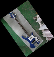 Solid bass guitar necks - New string bass Electric BASS Guitar one piece neck with side binding blue
