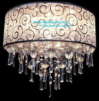Wholesale Hot Selling light Modern Europeam Style Ctrystal Ceiling Lamp Foxtire Hall Lamp