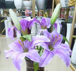 Wholesale Wedding Decorations Silk Artificial Flowers in Lily Wedding Favors Hot sale item